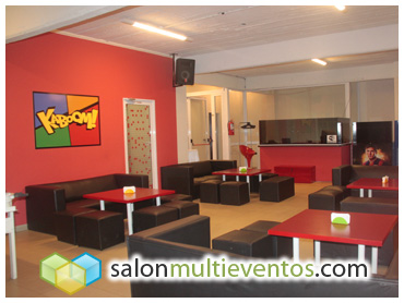 Salon de fiestas teens y pre adolescentes kaboom for K boom salon de fiestas